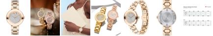 Movado Women's Swiss BOLD Museum Classic Light Carnation Pink Stainless Steel Bracelet Watch 32mm