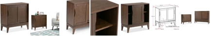 Simpli Home Canden Low Cabinet