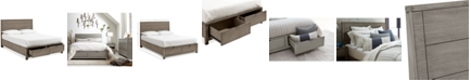 Furniture Tribeca Storage California King Platform Bed, Created for Macy's