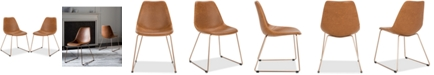Safavieh Kato Faux Leather Dining Chair (Set Of 2)