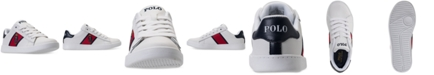 Polo Ralph Lauren Little Boys' Quilton Bear Casual Sneakers from Finish Line