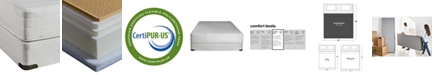 Nature's Spa by Paramount Eden Latex 11''  Cushion Firm Mattress Set- King, Created for Macy's