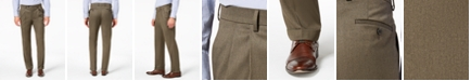 Lauren Ralph Lauren Men's Classic-Fit UltraFlex Stretch Micro-Twill Pleated Dress Pants