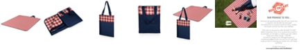 Picnic Time Oniva™ by Vista Navy Outdoor Picnic Blanket & Tote