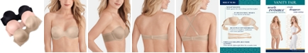 Vanity Fair Nearly Invisible™ Full Coverage Strapless Underwire Bra  74202