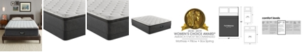 """Beautyrest BRS900-TSS 14.75"""" Medium Firm Pillow Top Mattress Set - Full, Created For Macy's"""