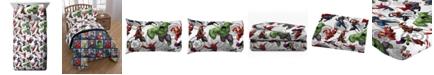 Avengers Marvel 3-Pc. Twin Sheet Set