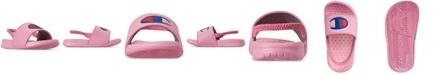 Champion Toddler Girls' Super Slide Sandals from Finish Line