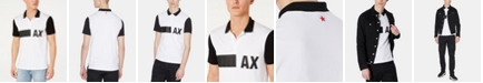 A|X Armani Exchange Men's Colorblocked Polo Created For Macy's