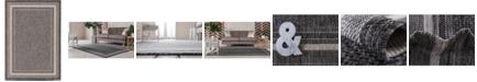 Bridgeport Home Pashio Pas5 Black 7' x 10' Area Rug
