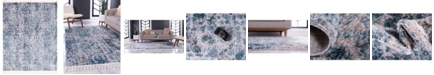 "Bridgeport Home Levia Lev3 Blue 9' 3"" x 12' Area Rug"