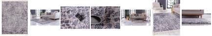 "Bridgeport Home Levia Lev3 Gray 9' 3"" x 12' Area Rug"