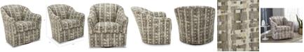 "Furniture Crisbury 32.5"" Fabric Swivel Chair"