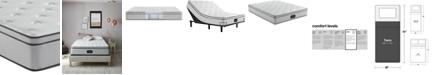 """Beautyrest BR800 12"""" Plush Euro Top Mattress- Twin"""