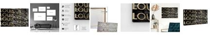 "Oliver Gal Gold Dream Canvas Art, 15"" x 10"""