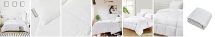 Kathy Ireland Ultra-Soft Nano-Touch Extra Warmth White Down Fiber Comforter, Twin