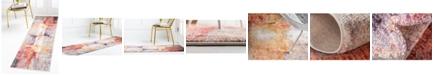 "Jill Zarin Flatiron Downtown Jzd008 Multi 2'2"" x 6' Runner Rug"