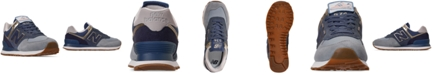 New Balance Women's 574 Metallic Casual Sneakers from Finish Line