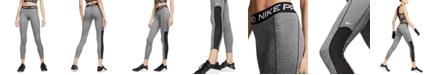 Nike Pro Dri-FIT Mesh-Trimmed Leggings
