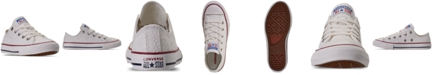 Converse Little Girls' Little Miss Chuck Taylor All Star Low Casual Sneakers from Finish Line