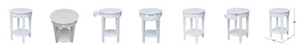 International Concepts Phillips Accent Table with Drawer