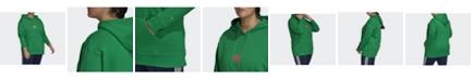adidas Women's Adicolor 3D Trefoil Hoodie, Plus Size