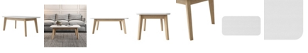 Handy Living Icaria Modern Wood Cocktail Table