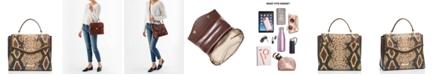 Brahmin Ingrid Savino Folklore Leather Satchel