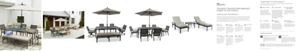 Furniture CLOSEOUT! Marlough Outdoor Dining Collection, Created for Macy's