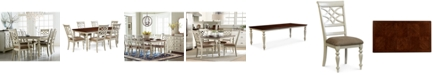 Furniture CLOSEOUT! Windward 7-Pc. Dining Set (Dining Table & 6 Side Chairs)