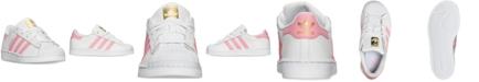 adidas Little Girls' Originals Superstar Sneakers from Finish Line