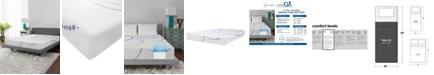 "SensorGel 8"" Firm Cool Gel Memory Foam Mattress, Quick Ship, Mattress In A Box- Twin XL"