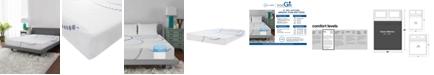 """SensorGel 8"""" Firm Cool Gel Memory Foam Mattress, Quick Ship, Mattress In A Box- Queen"""