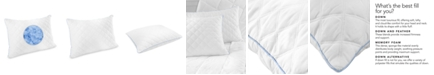 SensorGel Quilted Gel-Infused Cluster Memory Foam Pillows, Created for Macy's