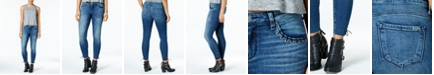 STS Blue Emma Mid Rise with Ankle Grommet Detail Jeans