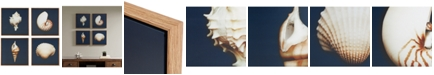 JLA Home Madison Park Ocean Seashells 4-Pc. Framed Canvas Print Set