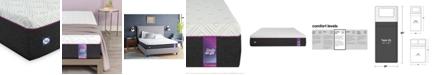 "Sealy to Go 12"" Cushion Firm Hybrid Mattress, Quick Ship, Mattress in a Box- Twin XL"
