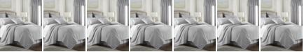 Colcha Linens Cambric Gray Comforter-Queen