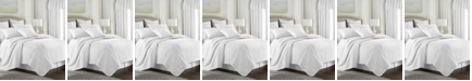 Colcha Linens Cambric White Coverlet-King