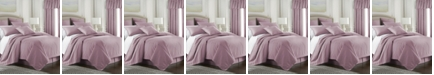 Colcha Linens Cambric Rose Gold Coverlet-King/California King