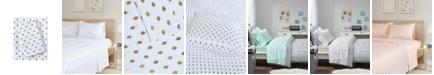 Intelligent Design Metallic Dot Full Printed Sheet Set