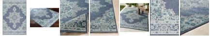 """Surya Alfresco ALF-9670 Charcoal 8'9"""" x 12'9"""" Area Rug, Indoor/Outdoor"""