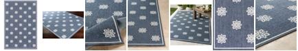 """Surya Alfresco ALF-9675 Charcoal 3' x 5'6"""" Area Rug, Indoor/Outdoor"""