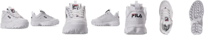 Fila Women's Disruptor II Premium Casual Athletic Sneakers from Finish Line