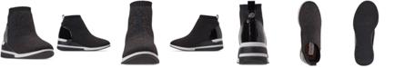 Steve Madden Little Girls' JDusky Sock Wedge Platform Casual Sneakers from Finish Line