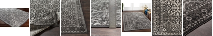 """Abbie & Allie Rugs Rafetus ETS-2331 Charcoal 18"""" Area Rug Swatch"""