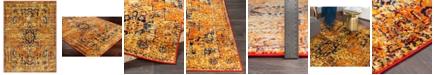 "Abbie & Allie Rugs Abbie & Allie Rugs MNC-2316 Bright Orange 7'10"" x 10'3"" Area Rug"