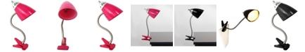 All The Rages Limelight's Flossy Flexible Gooseneck Clip Light Desk Lamp