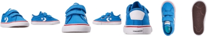 Converse Toddler Boys' Star Replay Tropic Canvas Low Top Casual Sneakers from Finish Line
