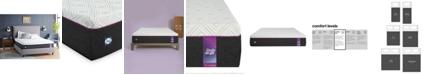 "Sealy to Go 12"" Cushion Firm Hybrid Mattress - Quick Ship, Mattress in a Box"
